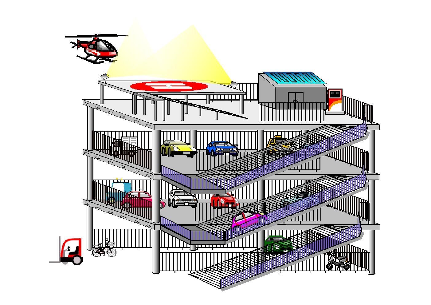 災害対応ヘリポートのイメージ